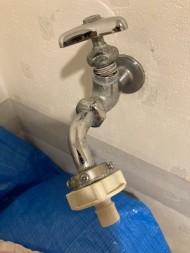 【画像】洗濯蛇口からの水漏れご依頼実績の紹介