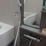 浴室シャワー水漏れ 埼玉県狭山市 O様邸