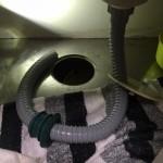 台所排水ホース、防臭栓交換 東京都国分寺市 S様邸