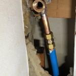 給水管一部引換え 東京都多摩市 D様邸