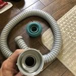 台所排水ホース、防臭栓交換 東京都府中市  U様邸